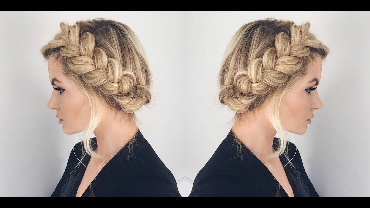 Tutorial Halo Braid Tutorial Youtube