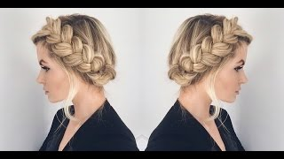One of Amber Fillerup's most viewed videos: TUTORIAL | Halo Braid Tutorial