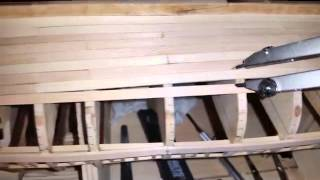 Wooden Model Ship Planking Pt 2