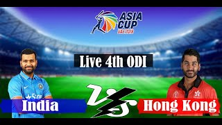 Live India Vs Hong Kong Free without ads Asia cup live 2018