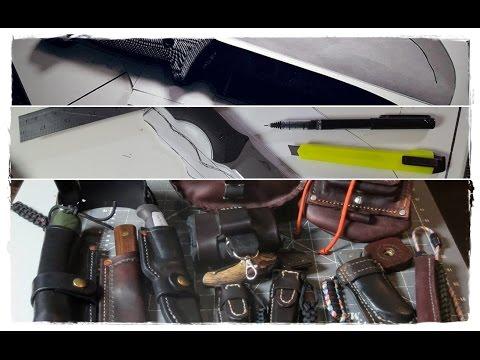 How I Design a Leather Knife Sheath