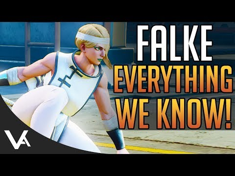 SFV - New Falke Details! Gameplay & Move List For Street Fighter 5 Arcade Edition