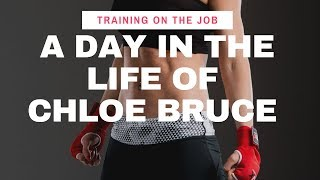 A Day in the life of Chloe Bruce | Training on the job