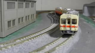 鉄コレ関東鉄道310形を4両編成で走行