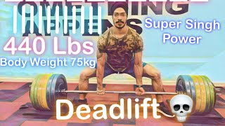 Do You Think Super Singh Can't Lift Heavy Weight?  Check This Video Out !