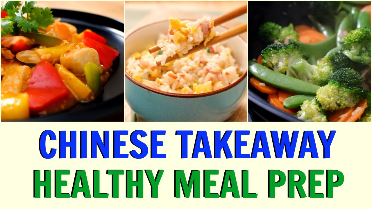 Healthy chinese takeaway lunch dinner sweet sour chicken egg healthy chinese takeaway lunch dinner forumfinder Choice Image