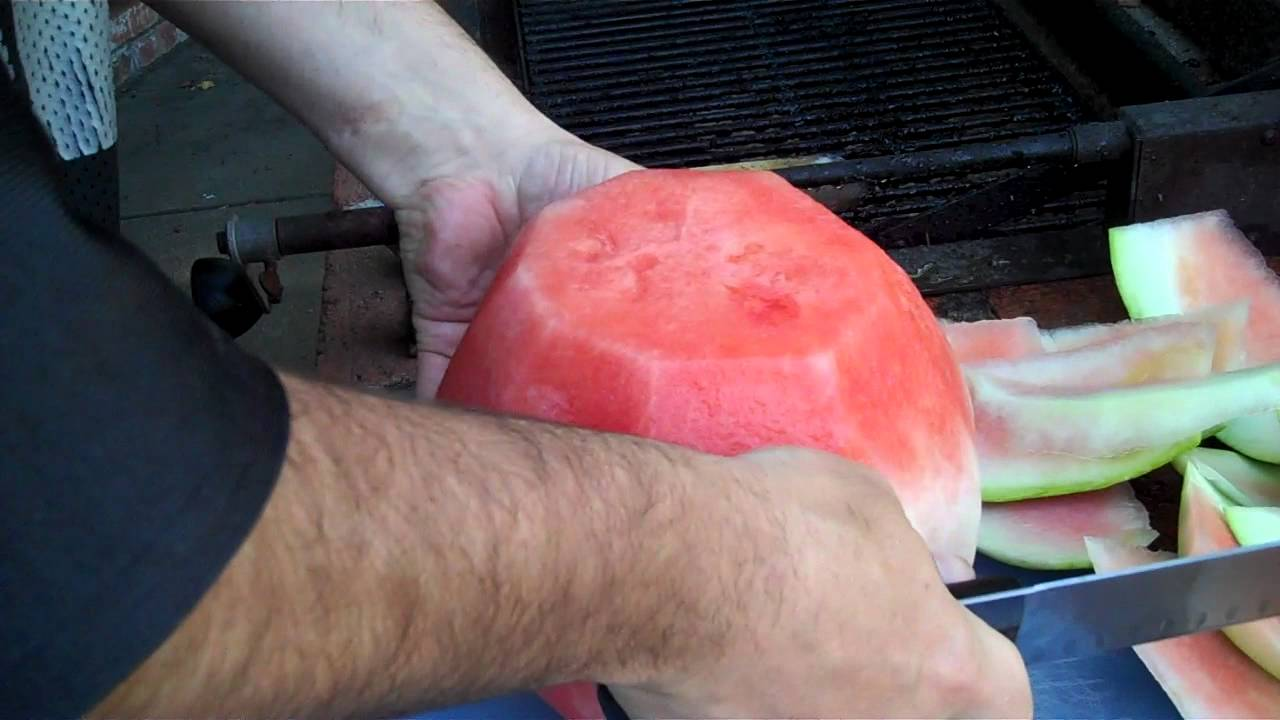Download How To Cut A Watermelon In Under Two Minutes:
