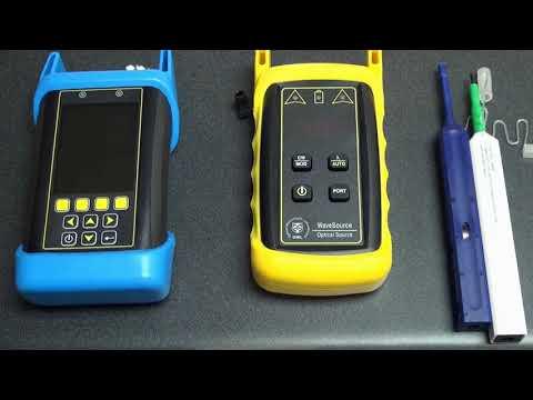 Cleaning Optical Ports on OWL Fiber Optic Test Equipment