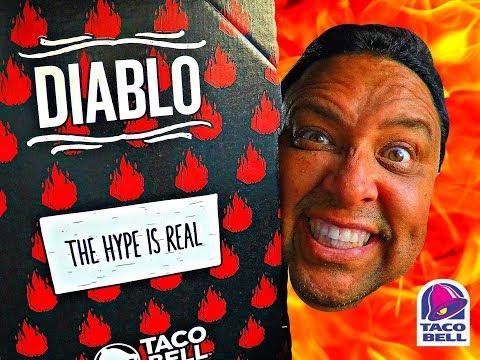 TACO BELL'SⓇ DEVILISH DIABLO TORTILLA CHIPS REVIEW!