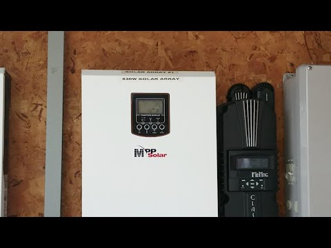 ADDING THE MIDNITE CLASSIC 150 ON STEVIE'S OFF-GRID SOLAR SYSTEM Pt#5