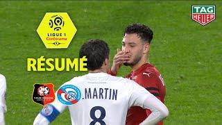 Stade Rennais FC - RC Strasbourg Alsace ( 1-4 ) - Résumé - (SRFC - RCSA) / 2018-19
