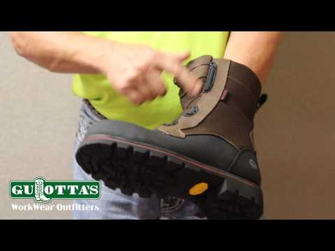 Wolverine Drillbit Boots With Boa Lacing System