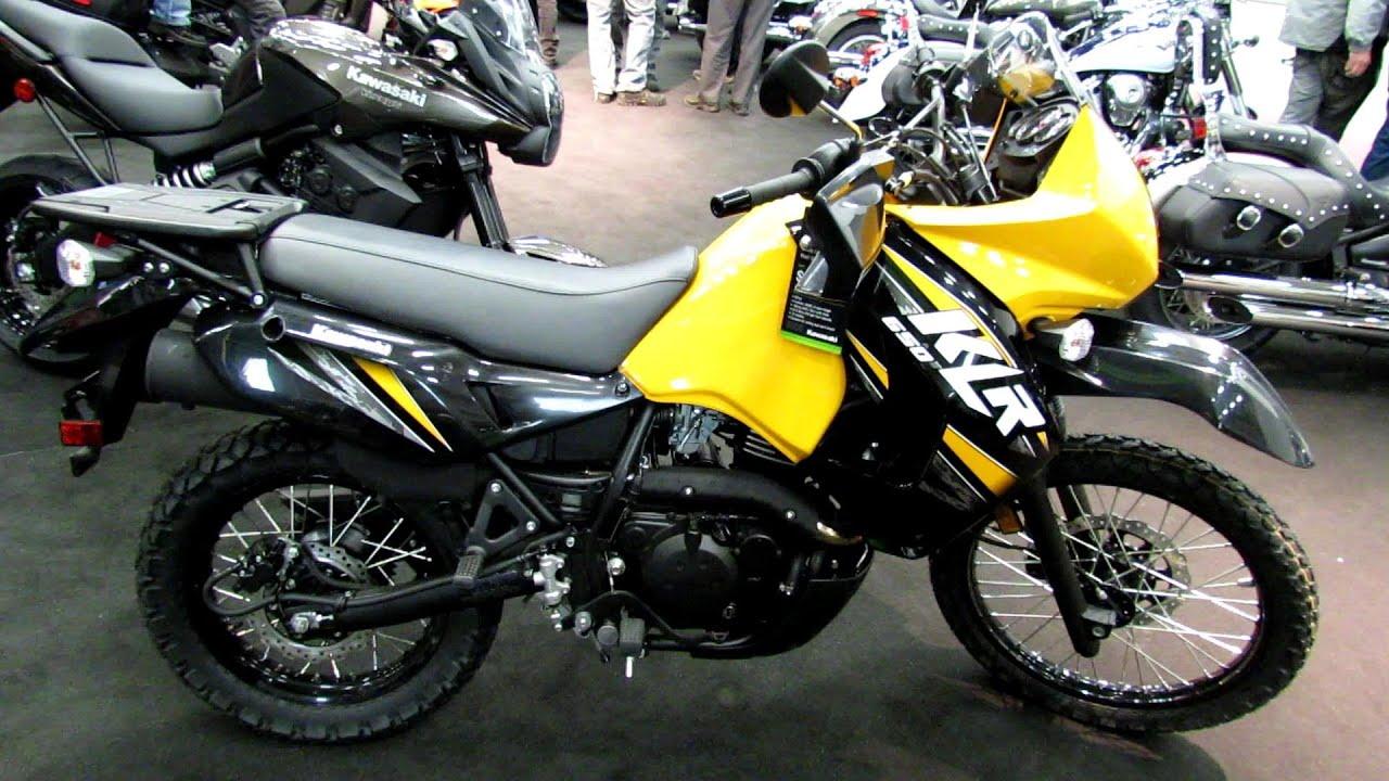 2013 Kawasaki KLR 650 - Walkaround - 2013 Quebec Motorcycle Show ...