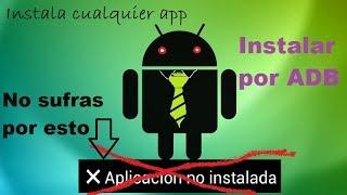 Video Instalar aplicaciones en android desde la PC / ADB download MP3, 3GP, MP4, WEBM, AVI, FLV Oktober 2018
