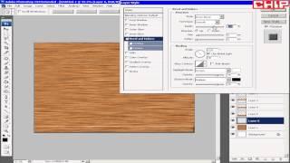 Photoshop cs3 Создание текстуры деревянных досок