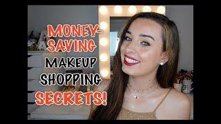 Money-Saving Shopping Secrets Every Makeup Lover Should Know! | Amaya Jolie |