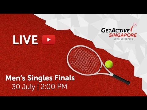 Tennis: Men's Singles Final | Singapore National Games 2016