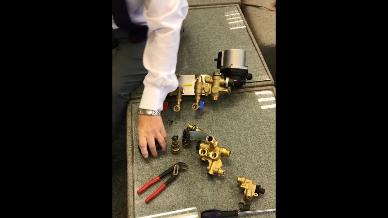 hight resolution of diverter valve combi boiler