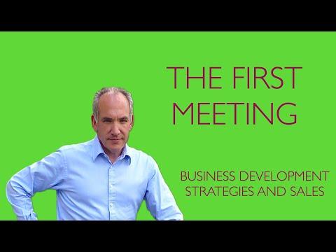 """Business Development"": The First Meeting"