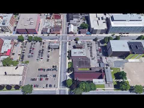 Fredericton, New Brunswick Aerial Tour