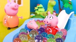 ❤️ PEPPA PIG ❤️ La nueva sorpresa de Peppa Pig! Peppa y George juegan en el parque de bolas
