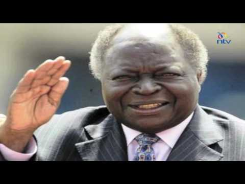 Former President Mwai Kibaki admitted in South African hospital