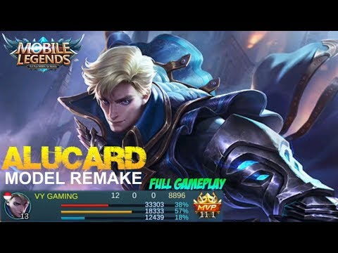 Mobile Legends - ALUCARD MODEL REMAKE and NEW VOICE Full Gameplay [Patch 2.02]