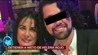 Detienen al nieto de Helena Rojo con cocaína en Perú