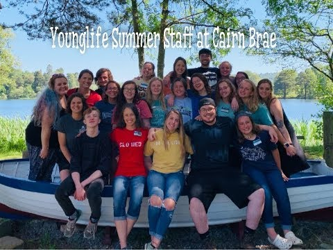 Younglife Summer Staff at Cairn Brae 2019