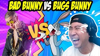 BAD BUNNY VS BUGS BUNNY REACCIÓN 😂🤣