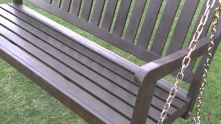 Cabos 4 Ft. Porch Swing With Cushion - Product Review Video