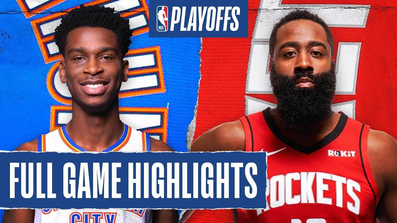 Houston Rockets Defeat Oklahoma City Thunder To Take 2-0 Series ...