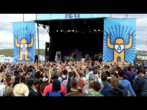 Shad - Good Name - Sasquatch Music Festival 2013