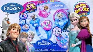 Обзор Холодное Сердце Frozen Glitzi Globes игрушки для девочек украшения