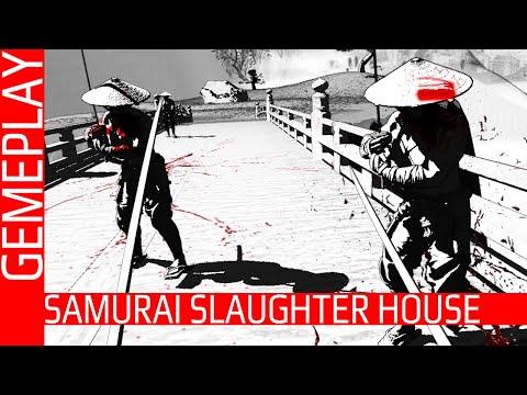 Drunk Samurai Simulator in VR - Samurai Slaughter House - Gameplay   PCVR  