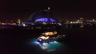 Dubai Night Life , Yachting Party , Burj Al Arab , Jumeirah Hotel View