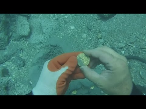 Lost treasure found in the San Jose galleon in Colombia
