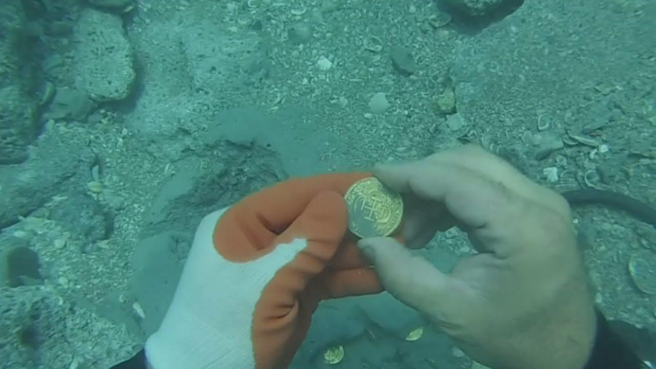 Lost treasure found in the San Jose galleon in Colombia