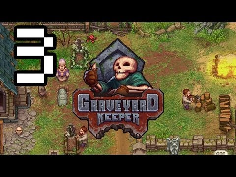 Seducing Ms. Charm - Graveyard Keeper 1.0 Gameplay #3