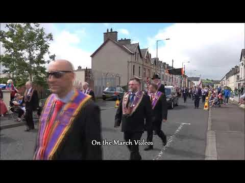 12th july Parade 2019 Larne