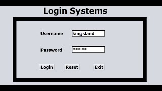 Java NetBeans Login Systems  Tutorial