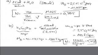 molaridad y normalidad de una solucin disoluciones qumica mistercinco