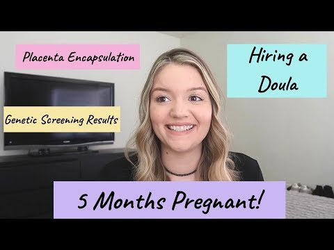 5 MONTHS PREGNANT! | UPDATES + BELLY SHOT | Tiffany Boulanger