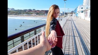 Arrived on Beautiful Bournemouth Beach in Dorset [ UK Vlogs 2018 ]