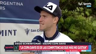Copa Davis: Gaudio y Schwartzman palpitaron lo que viene