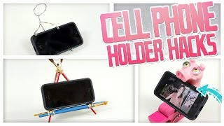 Cell Phone Holder Hacks - Do It, Gurl