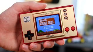 el Unboxing de la (NUEVA) GAME & WATCH Super Mario Bros