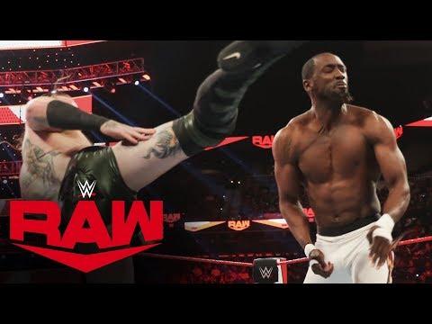 Aleister Black vs. Kenneth Johnson: Raw, Jan. 27, 2020