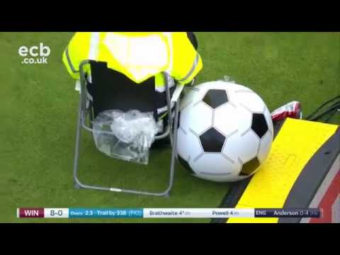 Jesus wants his ball back - Edgbaston Day/Night Test Match