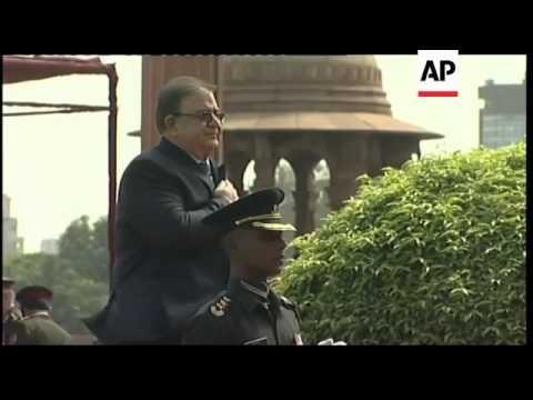 Defence minister arrives for talks